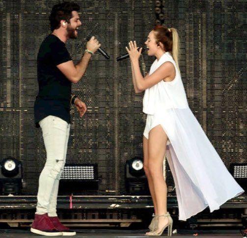 Danielle and Thomas Rhett