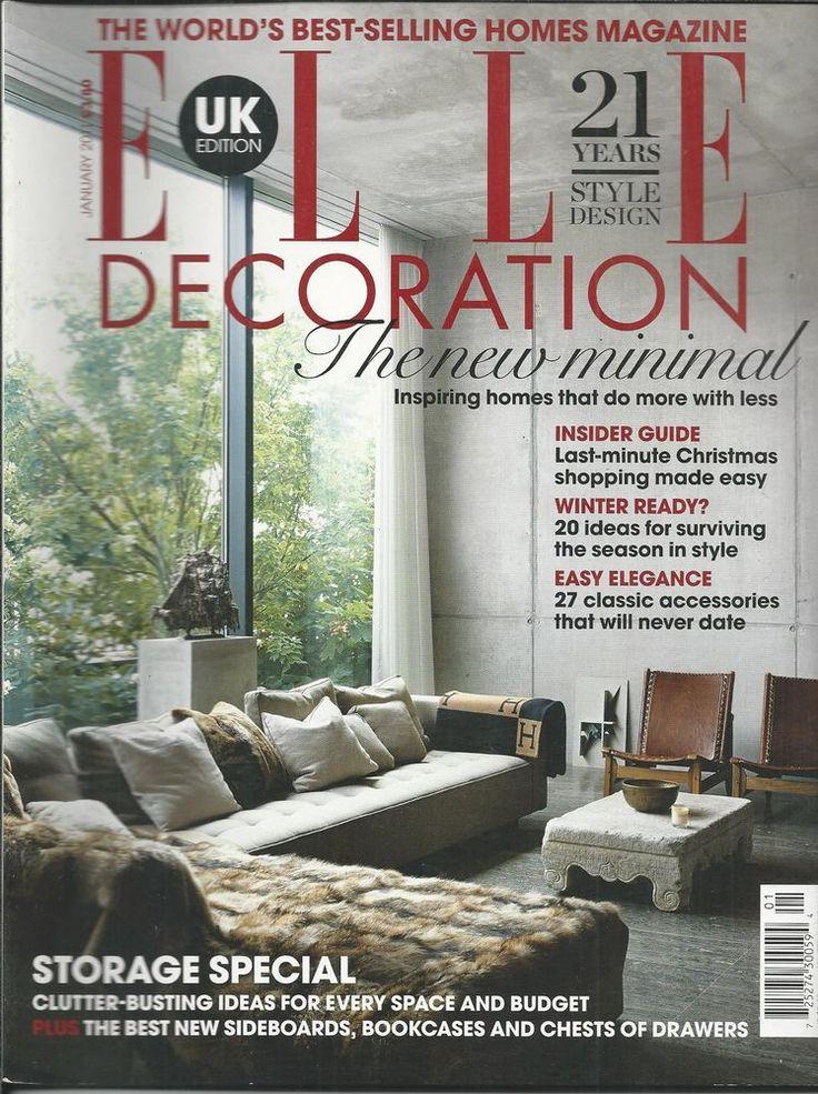 140 best elle decor covers images on pinterest elle decor elle decor magazine and journals - Magazine elle decoration ...