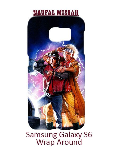 Back To The Future Samsung Galaxy S6 Case Cover