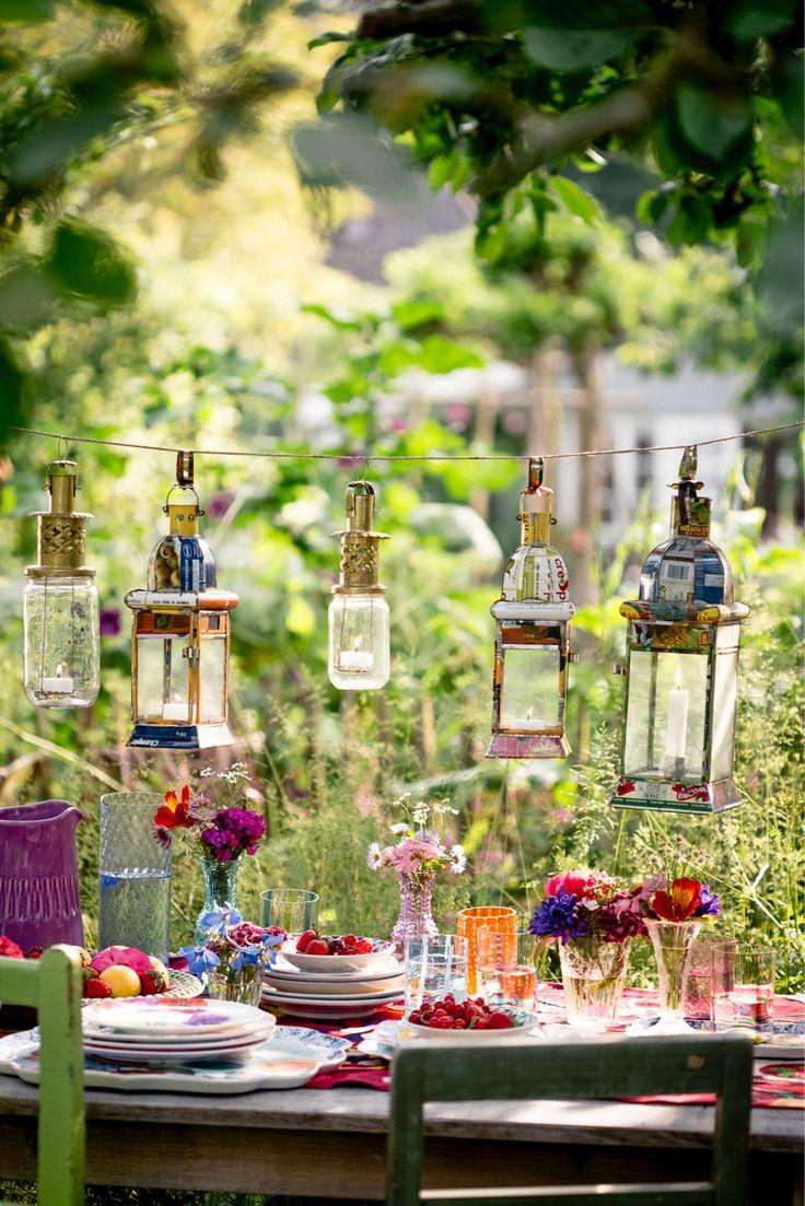 #Lanterns #summerparty styling Cyn Ferdinandus, foto: Ernie Enkelaar