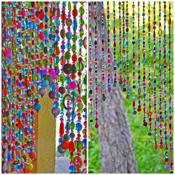 Beaded curtain Hanging beads Bohemian Curtain Boho doorway decor Beaded Door Curtains Hanging Door Beads doorway bead Door beads  sc 1 st  Pinterest & Best 25+ Hanging door beads ideas on Pinterest | Bead curtains ... pezcame.com