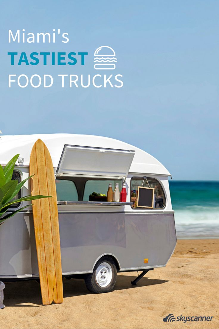 The only list you'll need to check out the best food trucks in Miami!