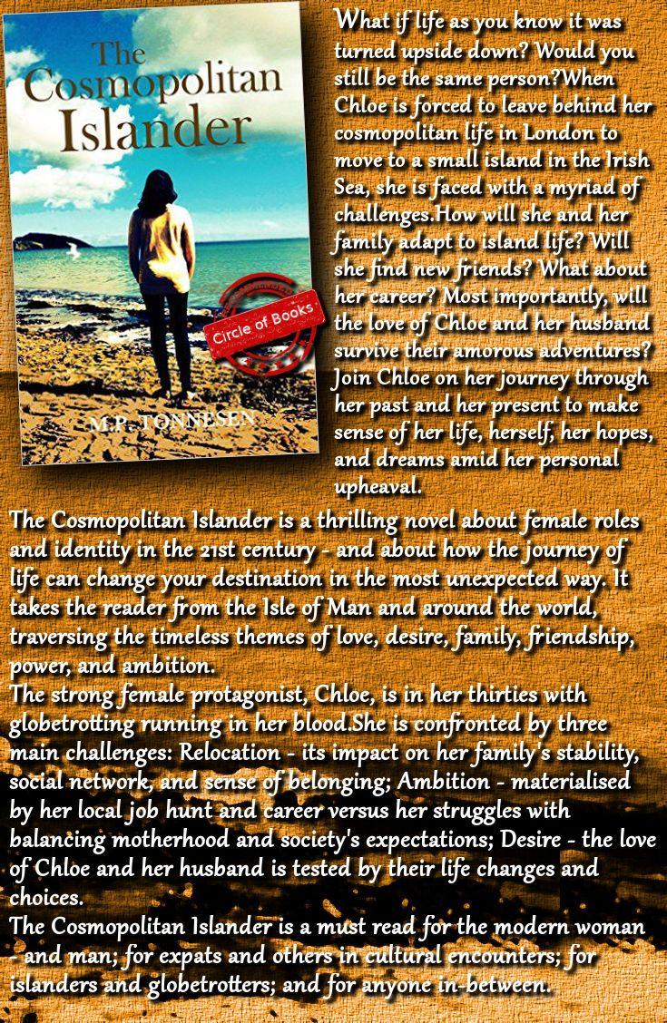 #contemporary #romance #women #book The Cosmopolitan Islander by M. P. Tonnesen