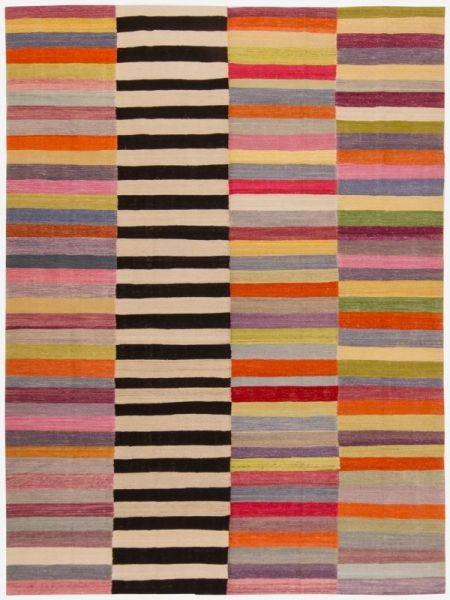 2962 Old Yarn DB Kilim 252x338cm, Loom Rugs