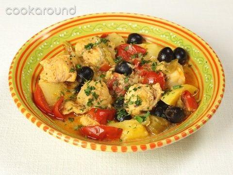 Tajine di pesce con patate e pomodori: Ricette Marocco   Cookaround