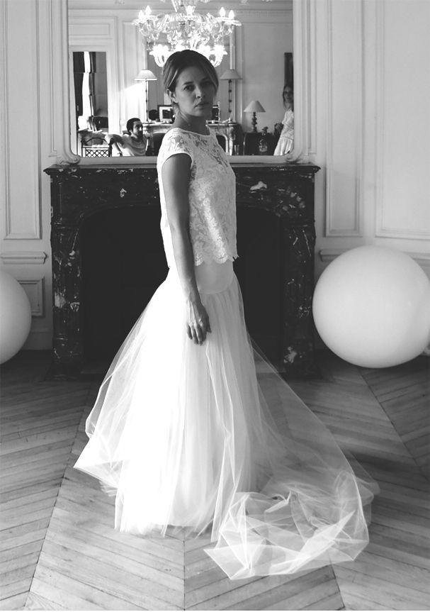 """15 robes de mariée romantiques pour lui dire """"Oui"""" !   Glamour"""