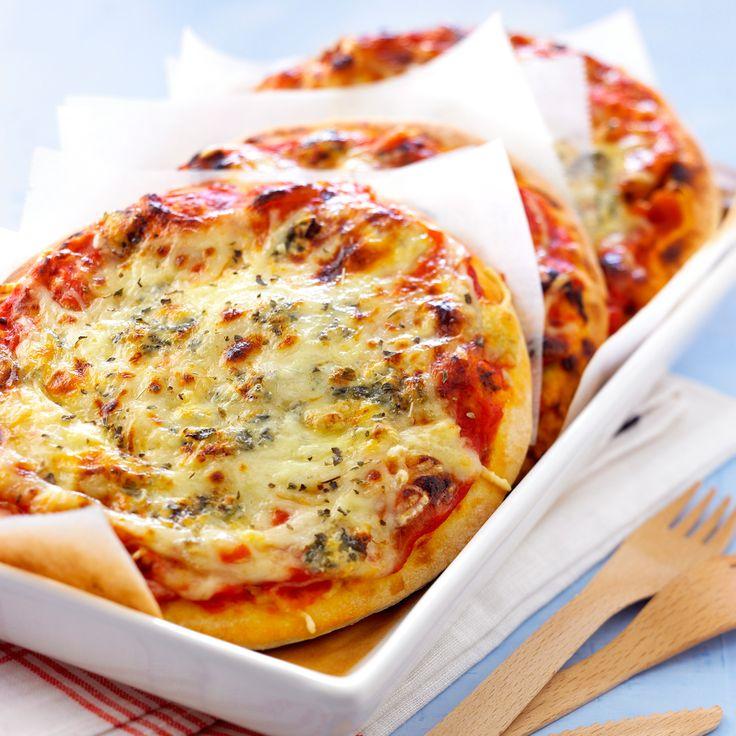 Pizza aux 4 fromages                                                                                                                                                                                 Plus