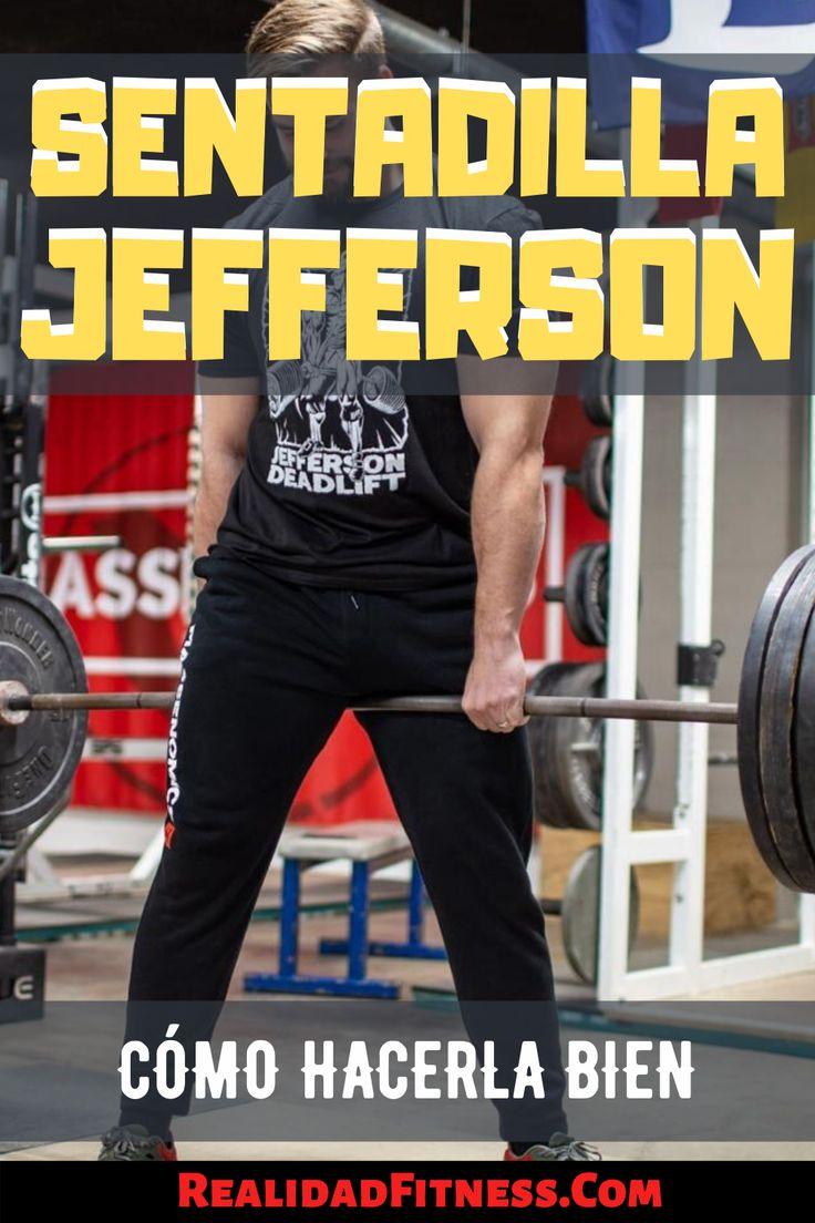 Sentadilla Jefferson Cómo Hacerla Paso A Paso Tipos De Sentadillas Sentadillas Entrenamiento