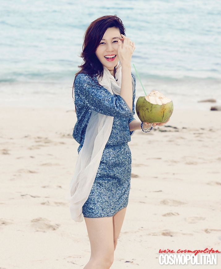 Kim Ha-neul // Cosmopolitan Korea // April 2013