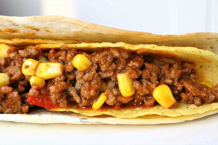 Gerechten zonder pakjes en zakjes #68. Mexicaanse dubbeldekkers & taco's van Honig -