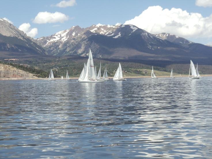 Sailing on Lake Dillon #Colorado #Dillon #sailboat