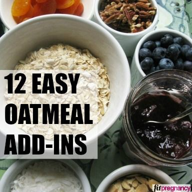 Build a better #breakfast with these 12 easy #oatmeal add-ins! Revamp your morning recipes.
