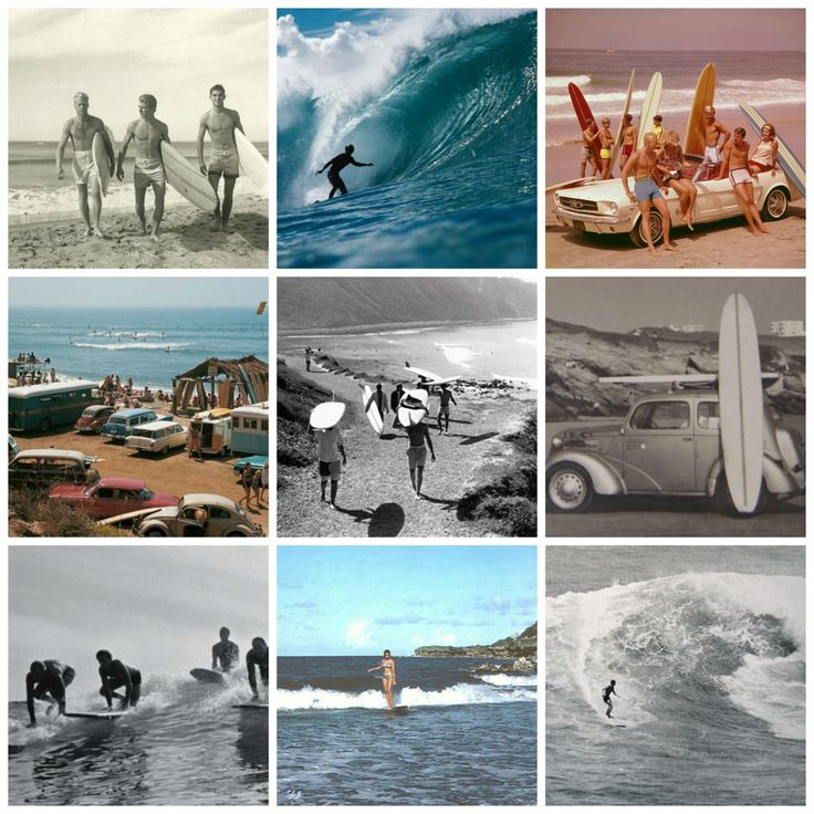 Surf culture in the 60's - ThingLink