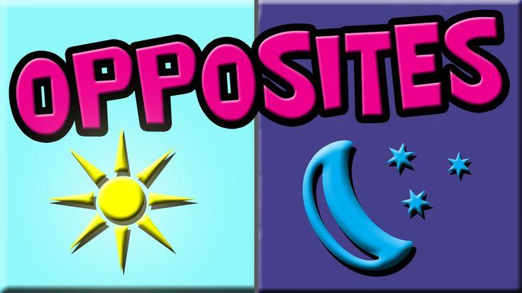 Opposites for Kids | Preschool Opposites | Opposite Learning | Opposites English | Opposites Kindergarten