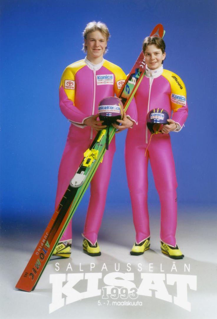 Toni Nieminen, Janne Ahonen - ski jumping