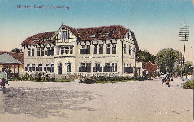 Semarang, Kantin Militer, 1918