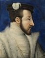 Henri II (1519 - 1559). Dauphin of France 1536 to 1547, when he became king. He was married to Catherine de Medici, but neglected her for his mistress, Diane de Poitiers.