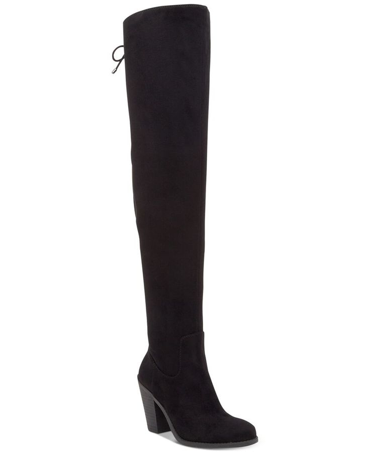 The eye-catching height and tie detail on Jessica Simpson's Coriee over-the-knee boots brings sensational style to skirts, leggings and skinny jeans.   Manmade upper; manmade sole   Imported   Round-t