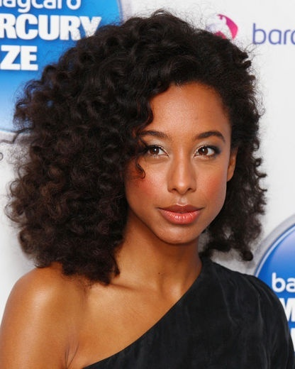 Beautiful natural hair. African-American hairstyles.