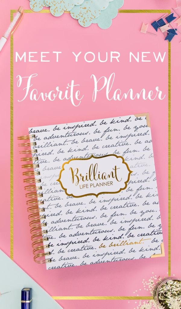 Dream big. Set goals. Break them down. Make them happen. Finally a planner as brilliant and beautiful as you are that makes it simple to reach your goals for 2018.