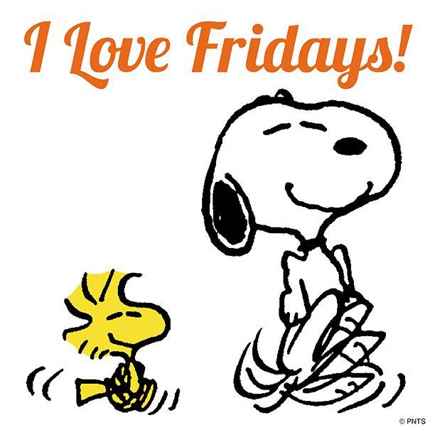 (♡´ ꒳ ` )ノ                                                            I Love Friday!