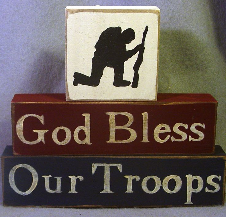 GOD BLESS OUR TROOPS. AMEN †