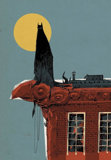 Jakub Kijuc - komiks, ilustracja: Batman