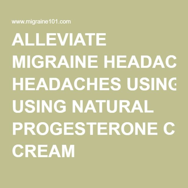 Benefits Of Using Natural Progesterone Cream