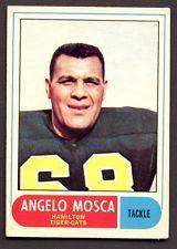 1968 OPC CFL # 46 Angelo Mosca Hamilton Tiger Cats