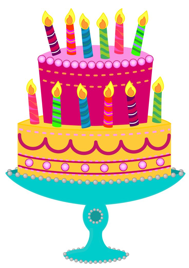 Party Cake Clip Art : Free Cake Images - Cliparts.co Papercraft Images ...