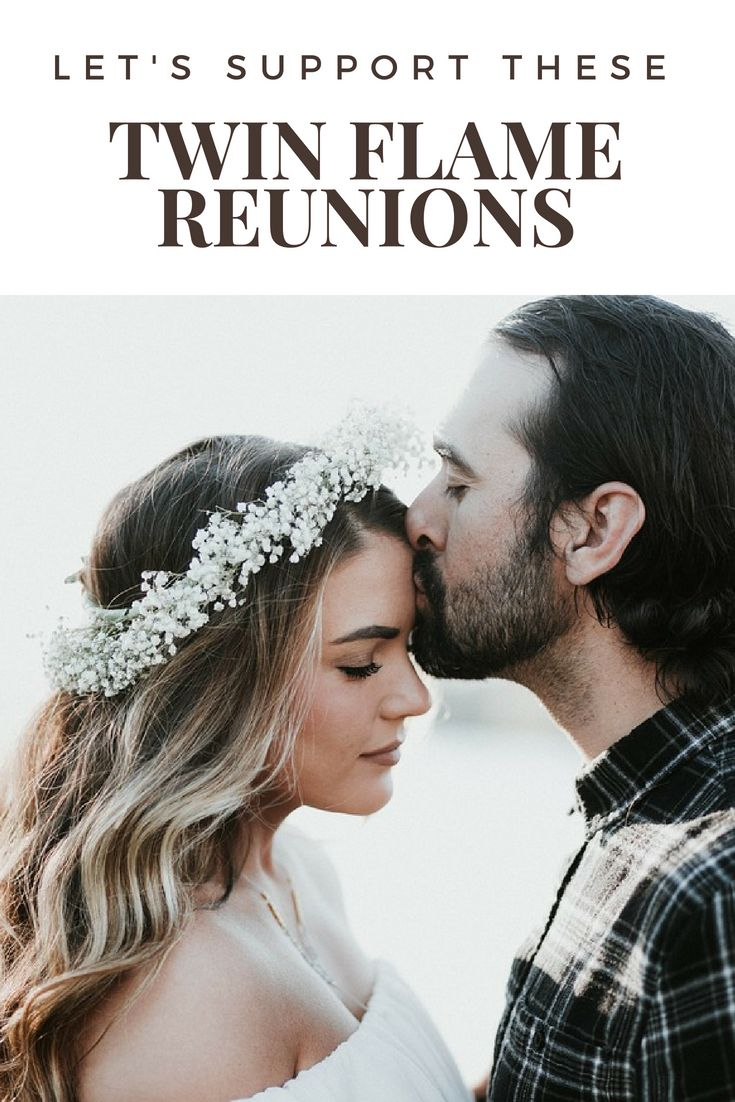 Let's support these twin flame reunions, and discover how to