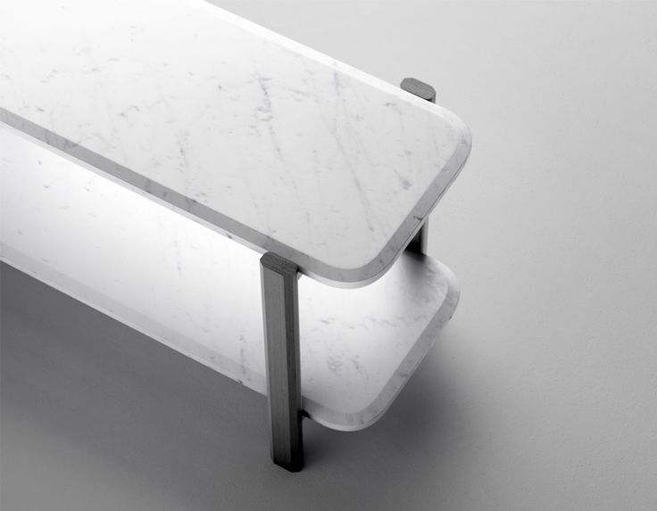 Sylvain Willenz for Retegui : Alaka coffee table #marble | Flodeau.com