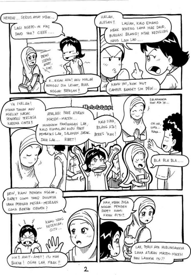 page 2-Komik Buatan Rohis Unair