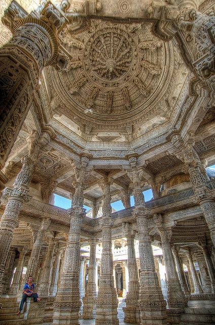 Ranakpur Jain Temple, Rajasthan, India by abmiller99