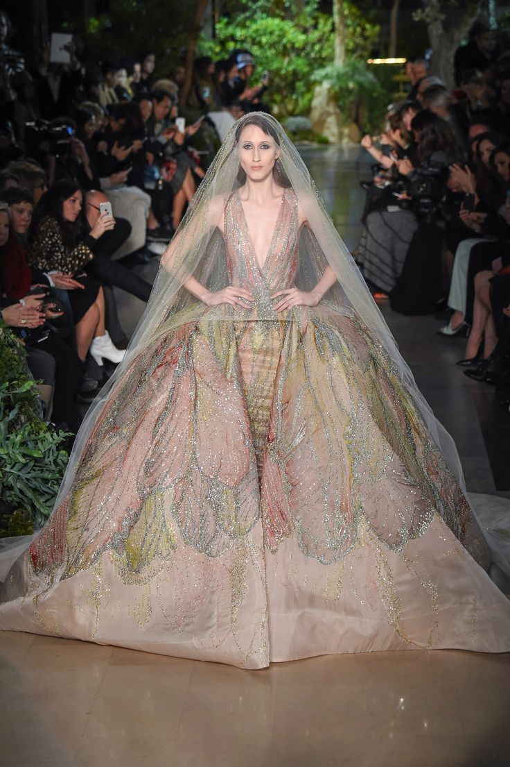 Elie Saab Haute Couture primavera estate 2015   Abiti da sposa