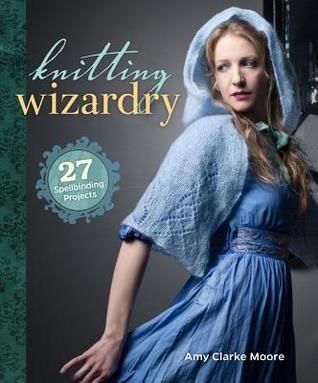 For those of you who missed your chance to get the Harry Potter Knits magazine, Knitting Wizardry just floated into the Cloud! This book contains 27 magical patterns modified and updated from the Harry Potter Knits magazine including the Owl Cardigan, the Giant's Sweater, and Shimmering Cloak.