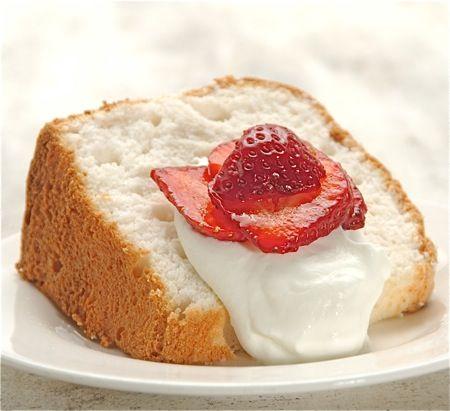 Gluten-Free Angel Food Cake: simply divine.: King Arthur Flour – Baking Banter