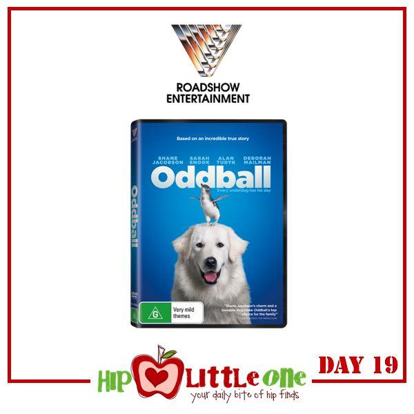 Win 1 of 3 Oddball DVDs (RRP $39.95)