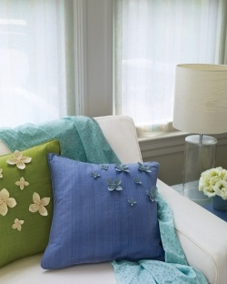 Floral pillow tutorial