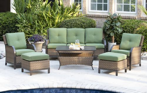 Menards In 2020 Backyard Creations Porch Furniture Patio Seating Sets
