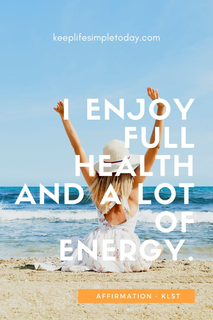 Affirm everyday and enjoy