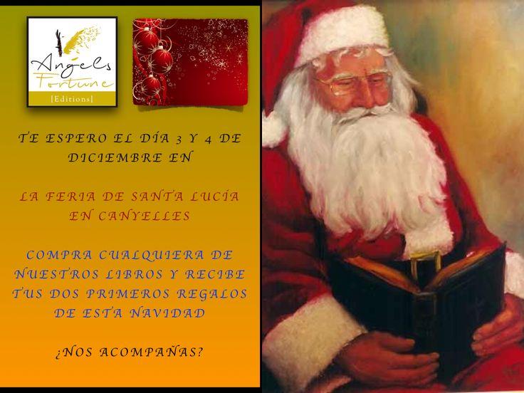 Te esperamos en la Feria de Santa Lucía de Canyelles con tus dos primeros regalos de Navidad