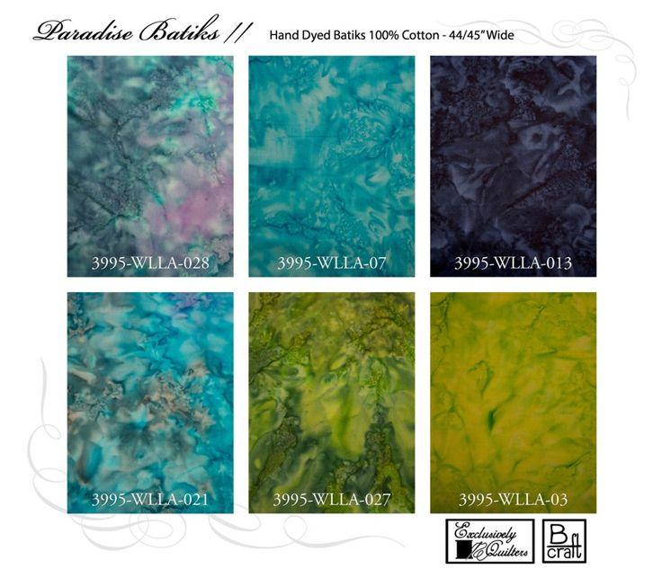 Paradise Batiks II