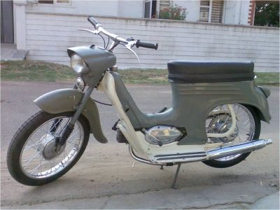 Motocykl značky Pionýr
