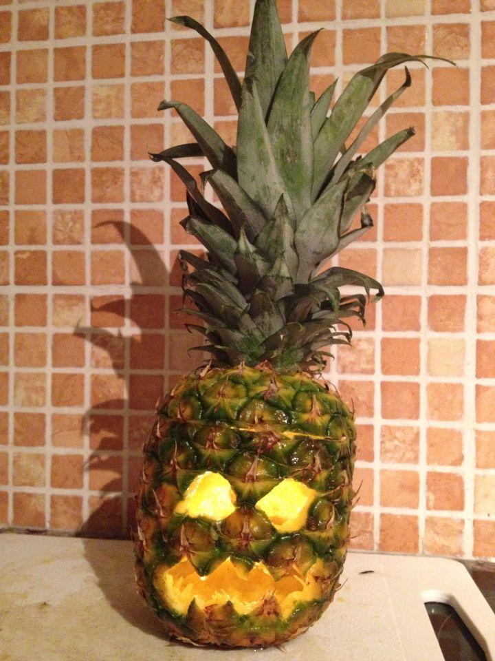 Pineapple Halloween