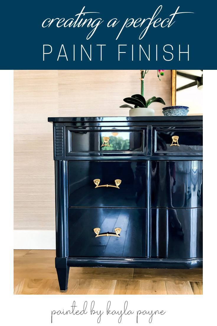 High Gloss Paint Finish With Fine Paints Of Europe Painted