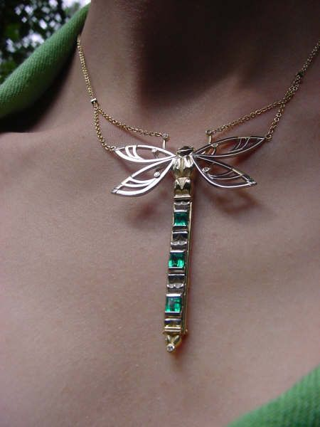 The emerald dragonfly