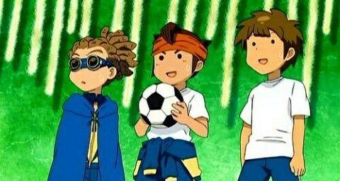 Inazuma Eleven- Jude, Mark y Darren