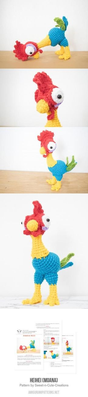 1445 best Crochet - amigurumi toys images on Pinterest | Crochet ...