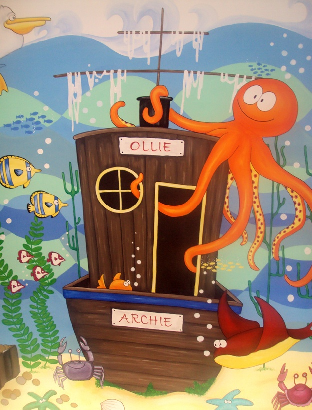 313 best images about classroom ocean theme on pinterest for Classroom mural